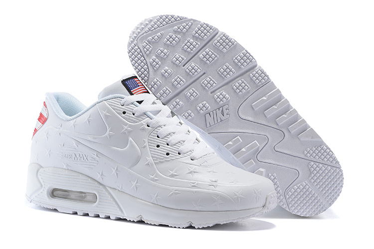 "Air Max 90 Hyperfuse ""Independence Day"" Pack Shoes White"